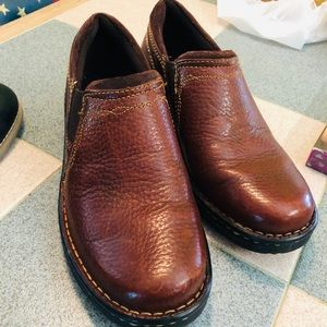 Ariat Loafers brown Leather slip on shoes